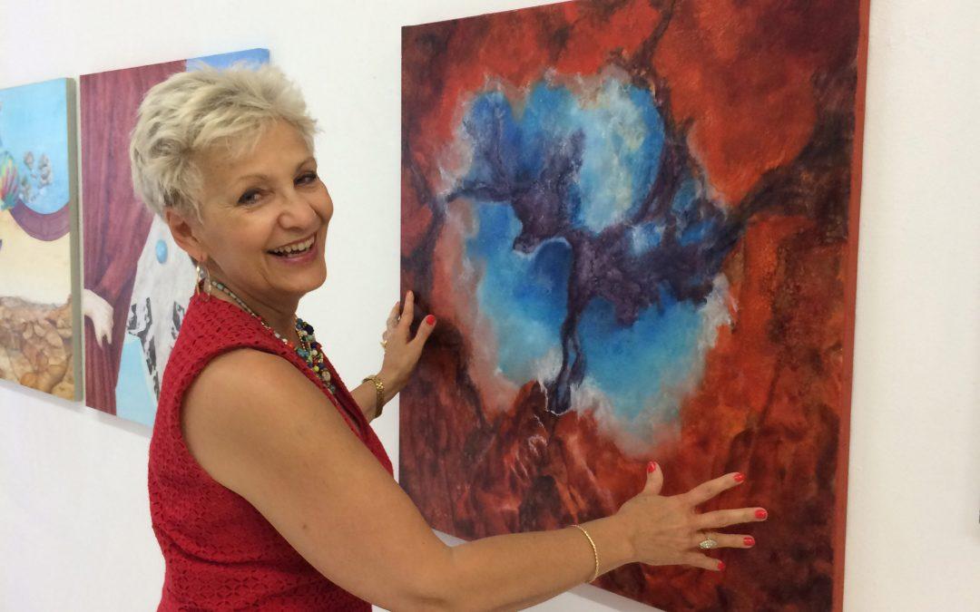 A la découverte de la communication d'une artiste peintre