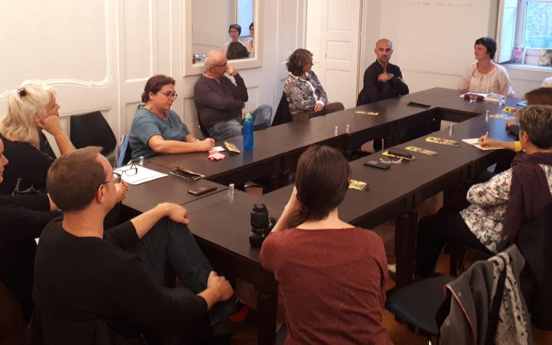 Culture'Com : rencontre avec l'écrivain Marin Ledun