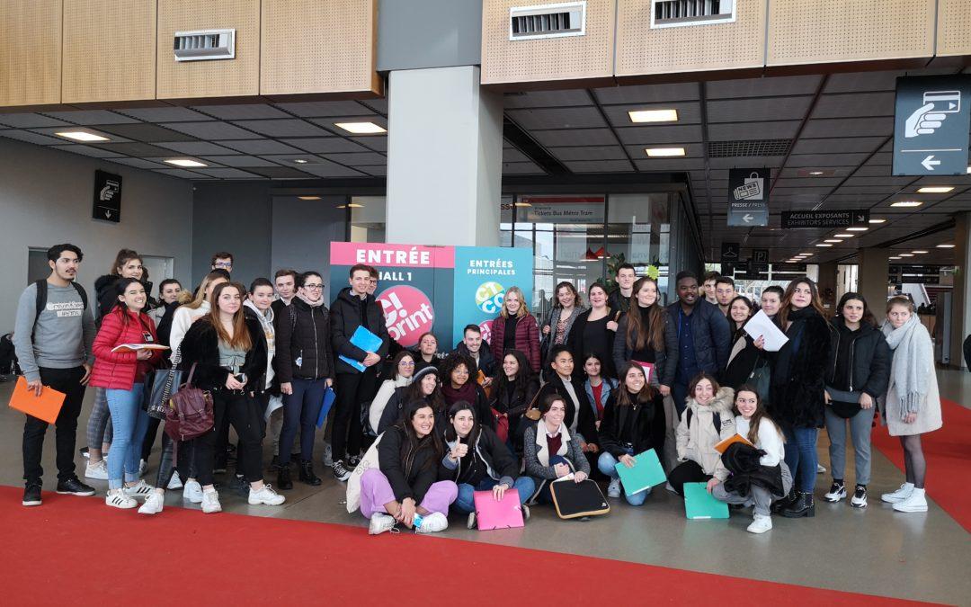 Retour sur le Salon C!Print et CTCO 2020 par les étudiants du Lycée Aristide Bergès