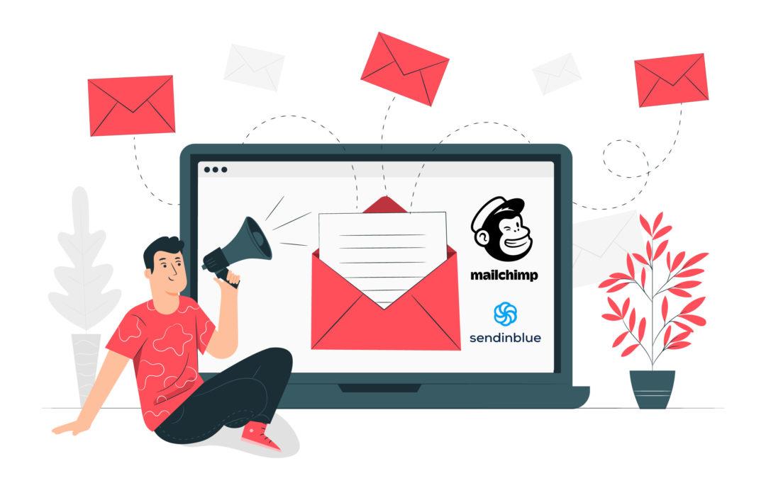 Quel outil pour créer une newsletter ? Mailchimp vs Sendinblue
